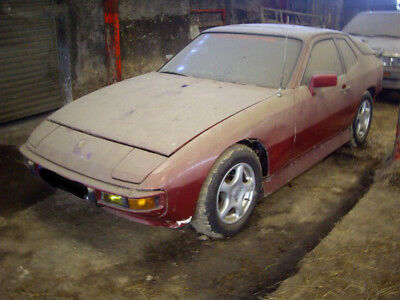 Porche 924 French Barn Find 1979 LHD