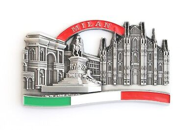 Unique Style Metal Fridge Magnet Home Decor Holiday Souvenir Gift from Milan