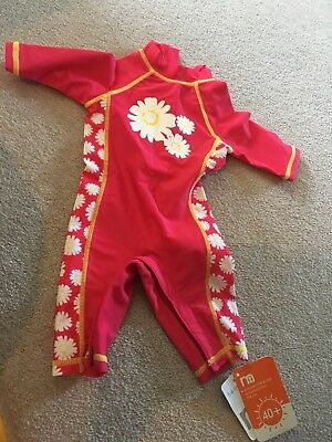 NWT Mothercare Sun Protection Swim Suit - 3-6 Mths SPF 40+