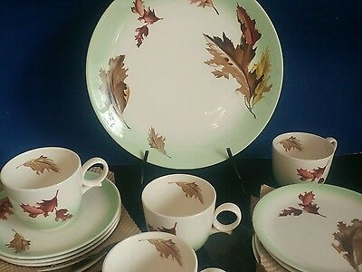 Canonsburg Pottery For Sears Roebuck Allegany Ware Dinnerware