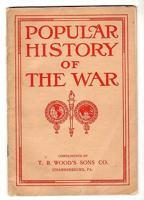 1919 Chambersburg Pa*t B Wood's Sons Co*power Transmission Machinery*wwi History