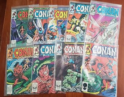 Collection of Conan The Barbarian comics  - Marvel Comics