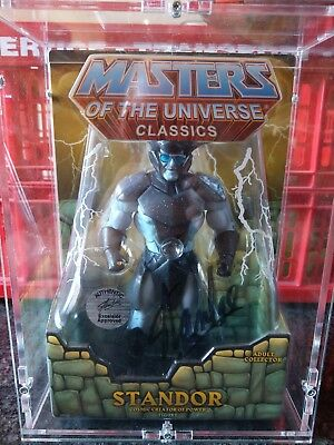 Masters of the universe classics Standor Stan Lee Signatur Marvel Autogramm