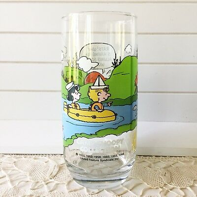 Vintage McDonalds Camp Snoopy Glasses Collection Peanuts