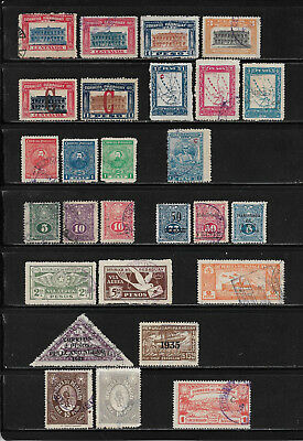 Paraguay, Lot in o/**/*/(*) ca. 1920 - 1933 mit Flugpost & Zeppelin, 3 Scans !