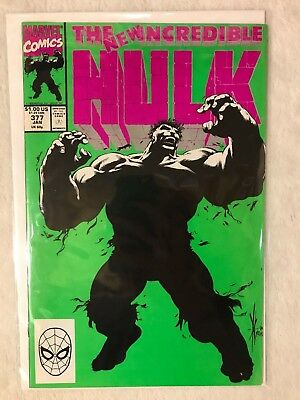 The Incredible Hulk #377 (Jan 1990, Marvel) VF