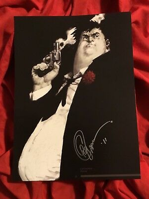SAM AND TWITCH COVER ART PRINT~RED~SIGNED BY GREG CAPULLO 2011~SPAWN McFARLANE