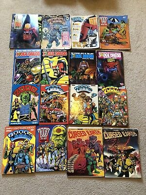 2000 AD and Judge Dredd Annuals Plus Sci-Fi Specials Bundle