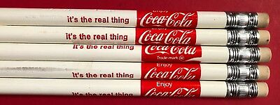 Vintage 70'S Coca Cola It'S The Real Thing Pencils