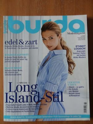 Burda Modemagazin Long Island Stil Kinder Piratenmode Pastell Sommer 6/2009