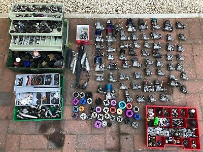 60x Job Lot Nitro Engines Clutch's Pull Starts Hpi Kyosho CAr Truck Parts Carb