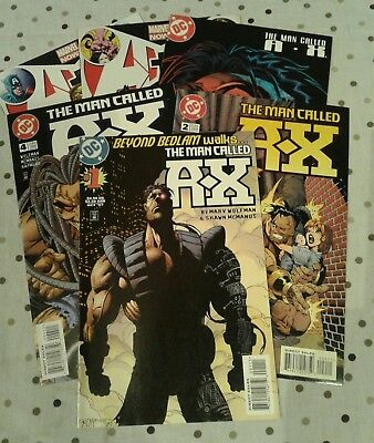 The man called A-X comics