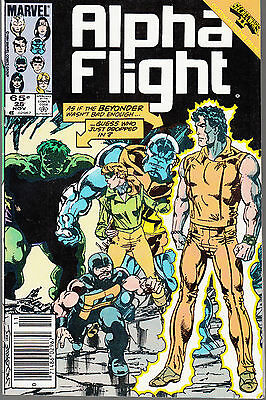 Alpha Flight  #28 1985 Marvel -Beyonder/ Hulk- Secret Wars  Byrne/ Shooter...fn