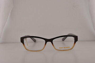 8e6f351af37a Tory Burch TY2039 Eyeglasses Brown Amber w/Demo Clear Lens 1010 TY 2039 53mm