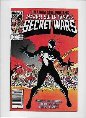 Marvel Comics Super Heroes Secret Wars 8  {{{ $4.99 UNLIMITED SHIP }}} B-10