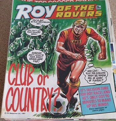 Roy of the Rovers 21st March 1987