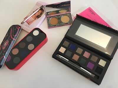 LOT Make Up For Ever 9 Artist Eyeshadow Palette, Cargo Shanghai, Mally Concealer