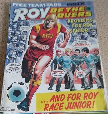 Roy of the Rovers 19th September 1987