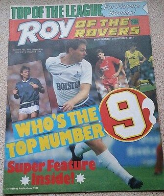 Roy of the Rovers 31st October 1987