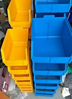 storage containers / parts bins