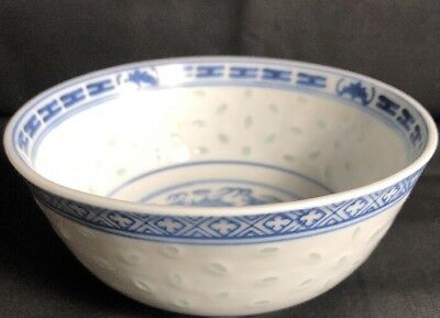 Chinese Rice Bowl Marked To Base