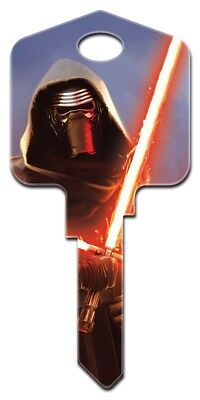 Disney - Star Wars - Kylo Ren - House Key - Blank - Schlage Shape - Sc1 Code