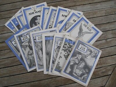 RAFA Air Mail magazine 1947 - 48