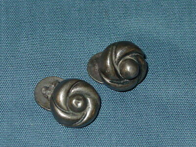 Vintage William Spratling Sterling Silver Cufflinks Mexico Mexican
