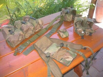 British Army Webbing PLCE Arktis HM Supplies DPM SAS Para Royal Marines Defender