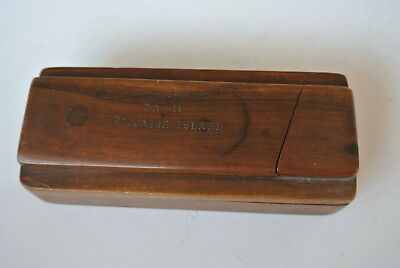 Wooden Puzzle Box from Pitcairn Island antique Treen Mutiny Bounty
