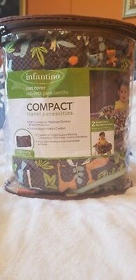 Infantino Compact 2-in-1 Shopping Cart Cover & Highchair Cover