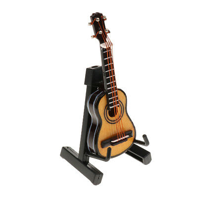 Dolls House Miniature 1/12th Scale Musical Instruments for Music Room Collection