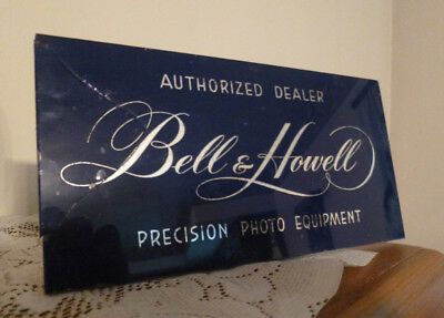 Bell & Howell Photo Equipment - Mirror Glass - Advertisitng Display - Camera