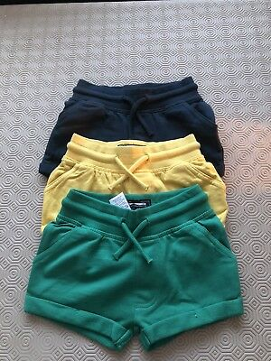 Baby boys Next shorts size 3 - 6 months