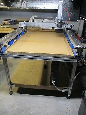 "Large Cnc Router 28"" X 52"" Cutting Area Excellent Condition"