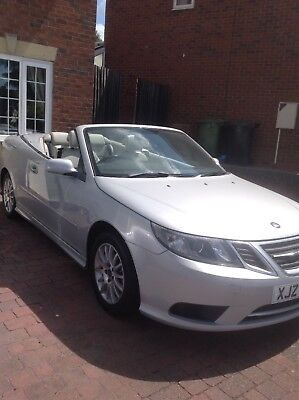 saab 9-3 linar convertible 1.8t 09 plate (private plate)