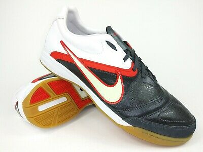 50f8e9ab356 Nike Mens Rare CTR360 LIBRETTO ll IC 429534-016 White Red Soccer Shoes Size  7.5
