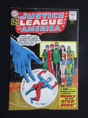 Justice League of America #14 DC 1962 - Atom joins The JLA - Wonder Woman!!!!