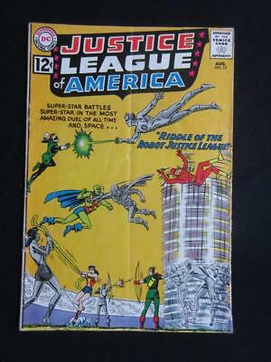 Justice League of America #13 DC 1962 - Speedy app  - Wonder Woman, Flash comics