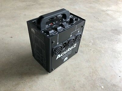 Profoto Acute2 1200 Excellent Condition, Fully Functional with Power Cable
