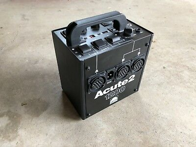 Profoto Acute2 1200 Power Pack/Generator Excellent Condition