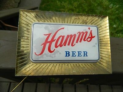 Vintage Hamm's Lighted Beer sign