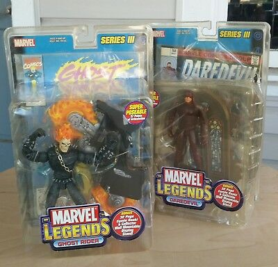 Marvel Legends Series III Ghost Rider & Daredevil - New