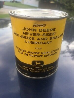 John Deere Antiseeze Can Nos Four Legged Deer