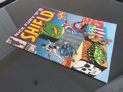 Nick Fury Agent of SHIELD #1 - HIGH GRADE - MARVEL 1968 - Jim Steranko!!!!