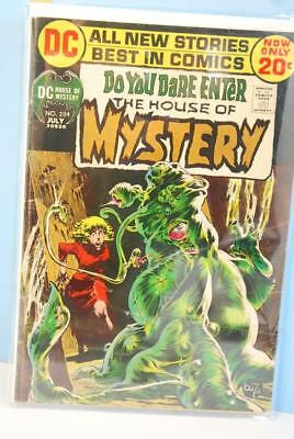 House Of Mystery #204 July 1972 Bronze Age Neal Adams Cover DC Comics G+