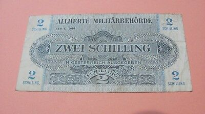 Military currency 1944 Zwei Schilling-nice -hard to find