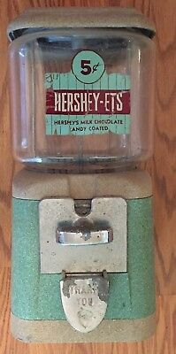 Vintage 5-cent Hershey-Ets Candy Vending Machine