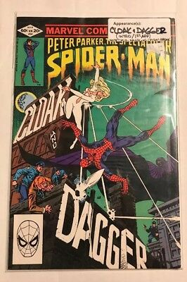 The Spectacular Spider-Man #64 (Mar 1982) 1st appearance of Cloak & Dagger