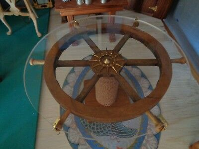 Hand made  nautical dollhouse dining table